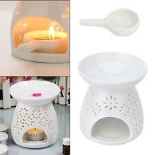 Ceramic Wax Melt Warmer Oil Burner Tealight Candle Holder Daisy Cut-Out