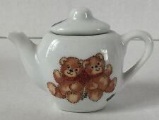 Lucy and Me by Enesco Vintage ©1979 Miniature Tea Set for Four 11 Pieces