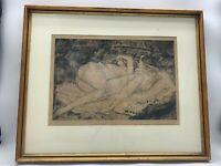 Andre Dunoyer de Segonzac (French, 1884-1974) Les demoiselles de la Marne, 1921