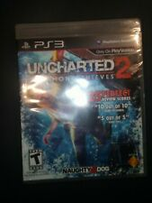 Uncharted 2 Among Thieves PS3 Playstation 3 Video Game NEW SEALED