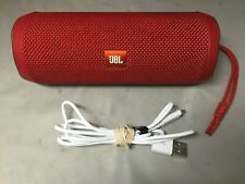 JBL Flip 4 Portable Bluetooth Speaker - Red