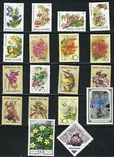 Flowers  on MNH Stamps from Russia......................# 1008