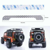Metal Rear Roof Plate + 3M Tape for Land Rover 1/10 RC Traxxas TRX4 Defender Car