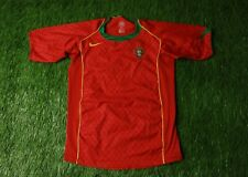 PORTUGAL NATIONAL TEAM 2004-2006 FOOTBALL SHIRT JERSEY HOME NIKE ORIGINAL YOUNG