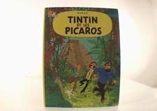 BD Tintin Tintin et les Picaros Hergé édition EO C1 de 1976 dos carré