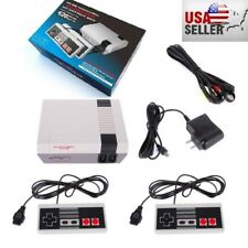 Mini Vintage Retro TV Game Console Classic 620 Built-in Games with 2 Controllers