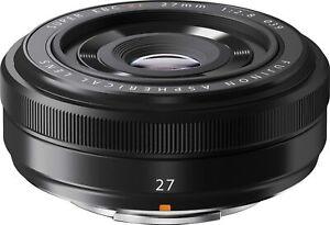 Fujifilm XF 27mm f2.8 (Black) Lens *OFFICIAL FUJI UK DEALER*