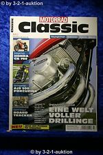 Motorrad Classic 7/11 Honda CR 750 AJS 500 Porcupine BMW K 75