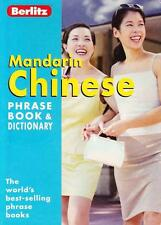MANDARIN CHINESE PHRASEBOOK AND DICTIONARY - BERLITZ EXCELLENT USED PAPERBACK
