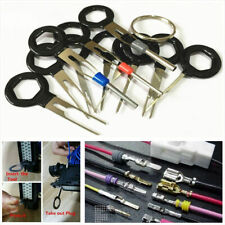 11Pcs Car Wire Harness Plug Terminal Extraction Pick Connector Pin Remove Tool
