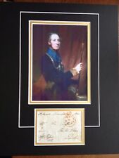 AUGUSTUS CLIFFORD - BRITISH NAVAL ADMIRAL  - EXCELLENT SIGNED PHOTO DISPLAY