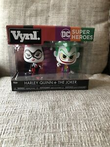 Funko Vynl DC Harley Quinn and The Joker