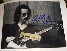 Robby Krieger Signed The Doors Autograph COA 8x10 b