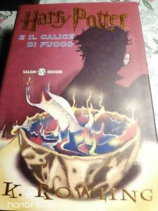Harry Potter E Il calice di fuoco  Salani EDIZIONE FEBBRAIO 2001 PERFETTO!