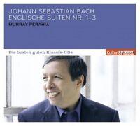 MURRAY PERAHIA - KULTURSPIEGEL:DIE BESTEN GUTEN-ENGLISH SUITES 1-3  CD NEU