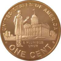 2009 S Lincoln Bicentennial Cent Professional Life Proof Bronze Penny 1c Coin