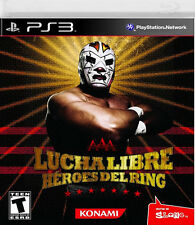 Lucha Libre AAA: Heroes of the Ring PS3, New Playstation 3