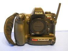 Kodak DCS Pro SLR/N Digital SLR Camera body batteries & charger Black very nice!
