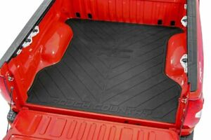 Rough Country Rubber Bed Mat (fits) 2019-2021 Ford Ranger | 5 FT Bed