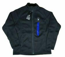 NWT Spyder Men's Constant Full-Zip Stryke Jacket Mid Weight XL 1302142 Black NEW