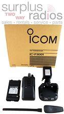 NEW ICOM F3001 RC 5W 16CH VHF 136-174mhz RADIO DURABLE POLICE FIRE HAM HUNTING