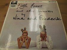 """SEG 8437 UK 7"""" 45RPM 1964 NINA & FREDERIK """"LITTLE BOXES & OTHER"""" EP MONO EX"""