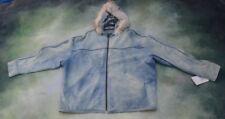 Vintage Scully Leather Wear Men's Jacket Size 2XL.