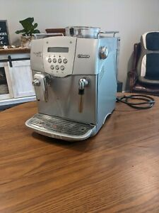 Saeco Incanto Deluxe S-Class ~ Fully Automatic Coffee/ Espresso Machine ~ AS-IS