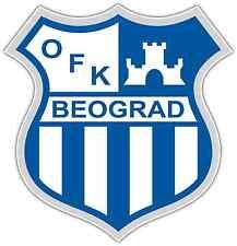 "OFK Beograd FC Serbia Football Soccer Car Bumper Window Sticker Decal 4""X5"""