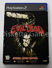 EVIL DEAD A FISTFUL OF BOOMSTICK SPECIAL MOVIE EDITION PLAYSTATION 2 PAL ESPAÑA