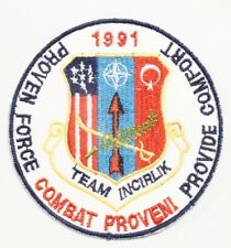 USAF Air Force Patch: 39th Tactical Group Operations, Team Incirlik, Turkey