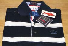 Camisas y polos de hombre azul Paul & Shark 100% algodón