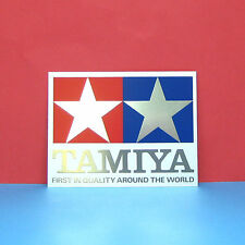 Tamiya #66047 Tamiya Logo Crystal Sticker (88mm x 115mm)