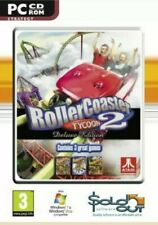 Rollercoaster Tycoon 2 Deluxe (PC CD), , Very Good, Electronics