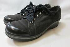 DANSKO Black Fabric Oxford Shoes Women's Size 42 Medium Good Condition