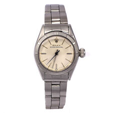 Vintage Ladies Rolex Oyster Perpetual Stainless Steel Watch 1960s