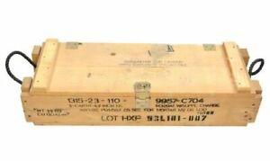 Transportkiste Holzkiste C704 Munitionskiste Lagerbox Werkzeugkiste Dekobox