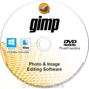 Photo Editing Software GIMP 2022 Premium Digital Image Picture Editor Mac OS X