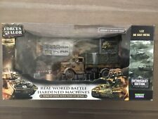 Forces Of Valor 80061 Enthusiast Ed German Camo 3 Ton Cargo Truck 1/32 New