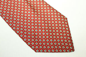 JACQUES ESTIER Silk tie Made in Italy F6364