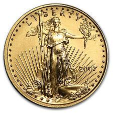 2007 1/10 oz Gold American Eagle BU - SKU #21526