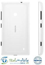 Carcasa Tapa Batería Nokia 02506M1 Original Nokia Lumia 525 520 Blanco Brillante