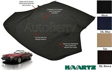 Jaguar XJS Convertible Soft Top 1989-1996 NEW HAARTZ Stayfast Canvas