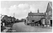 Approach to Dennington Nr Framlingham unused old postcard RAP