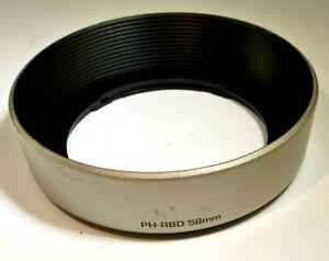 Pentax PH-RBD 58mm Lens Hood for 28-80mm AF zoom lens  Takumar 58mm