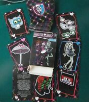 Baraja Juego cartas Monster High, Game Card Mattel 2013.