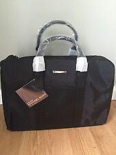 Michael Kors Parfum BlackJet Set Duffle Overnight Weekender Travel Gym Bag New