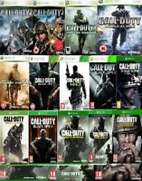 Call Of Duty Xbox one Xbox 360 Backward Compatible Assorted Mint - Fast Delivery