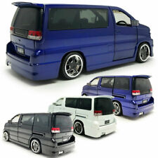 1:32 Scale Nissan Elgrand MPV Model Car Diecast Gift Toy Vehicle Kids Collection