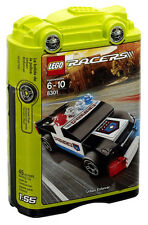 LEGO RACERS #8301 - Urban Enforcer / Bolide de Police - Collector 2011 - NEW